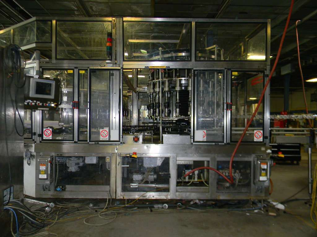Ronchi 40-20 Mass Flow Monoblock Filler Screw Capper