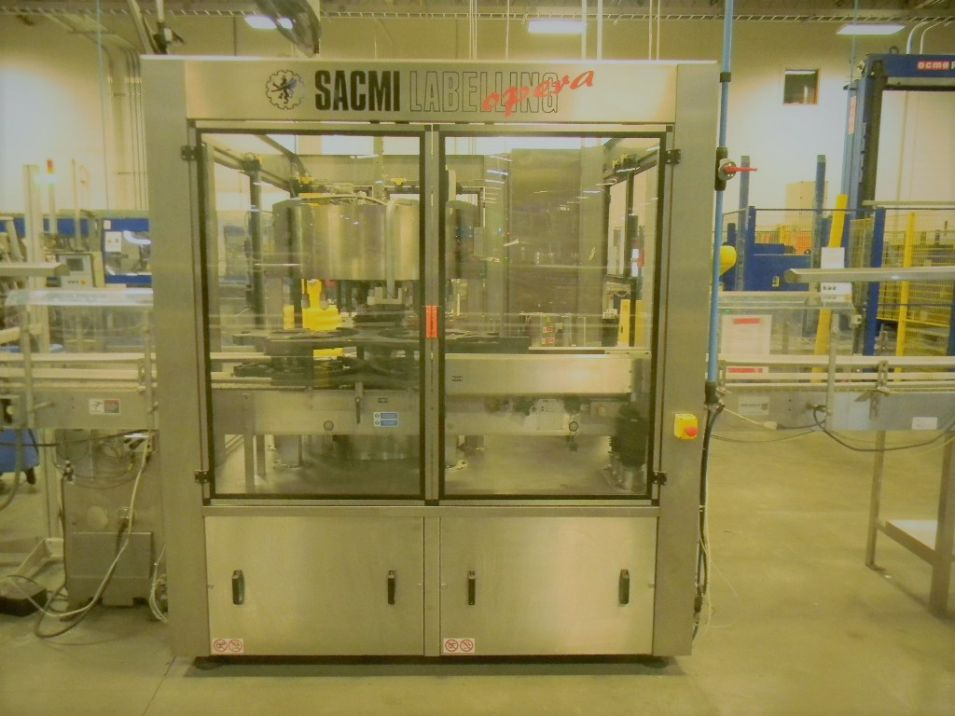 Sacmi Opera Rotary Pressure Sensitive Labeler