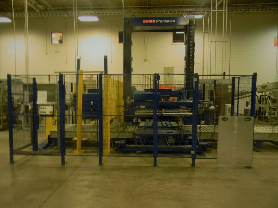 OCME Low Level Automatic Case Palletizer