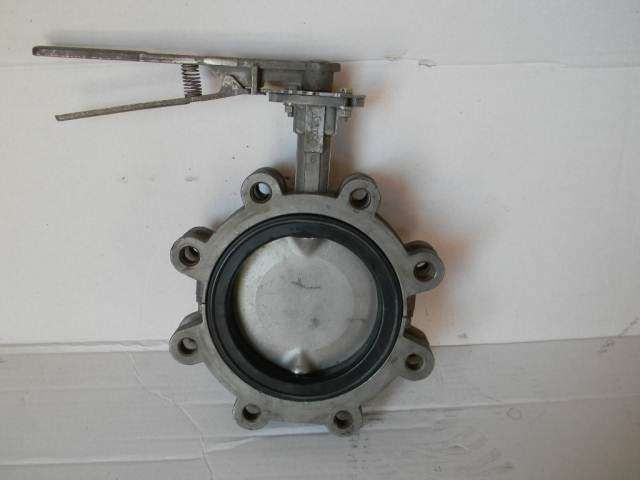 Hand Actuated Butterfly Valve