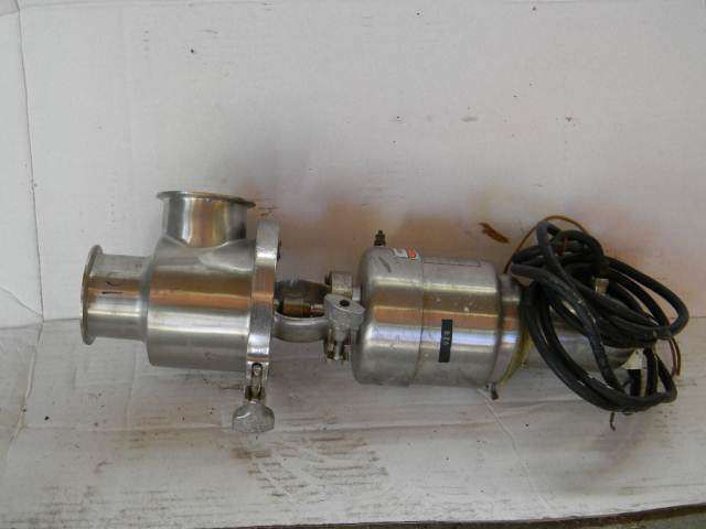 Air Actuated Plunger Valve