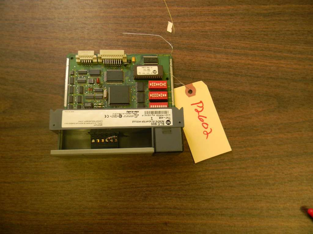 Allen Bradley SLC 500 Remote I-O RIO  Adaptor Module