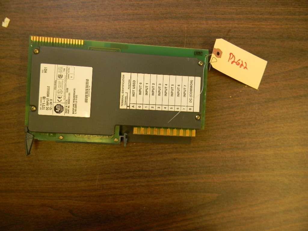 Allen Bradley DC Input Module SLC-5