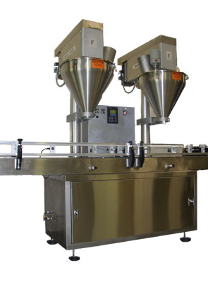 Used Dual Head Auger Filler