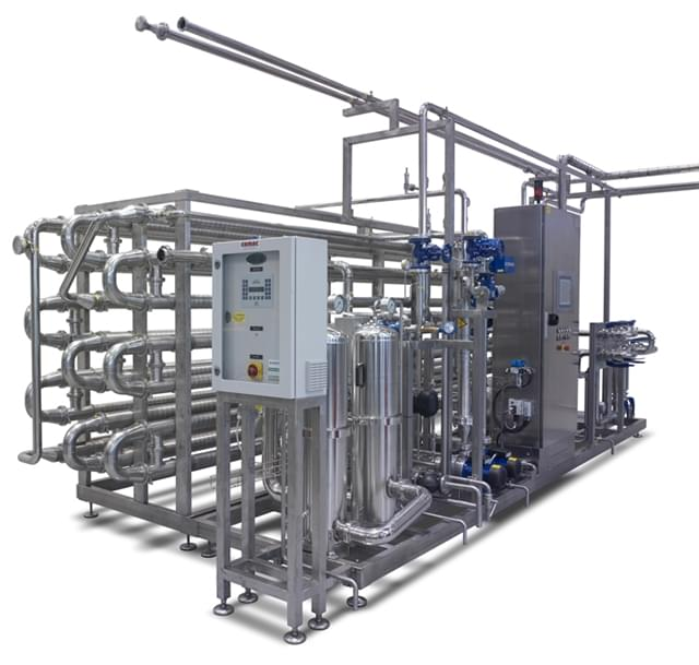 Used Flash Pasteurizer