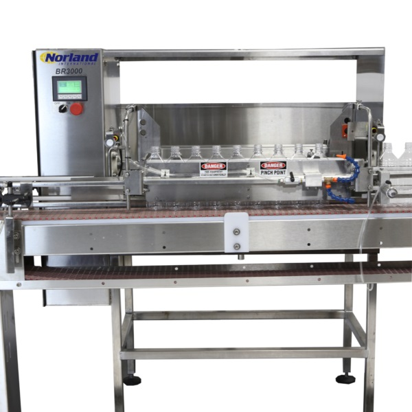 Inline Inverting Bottle Rinser