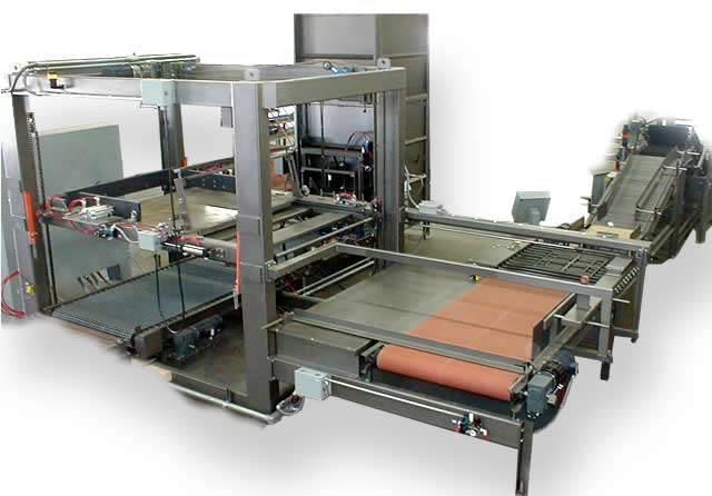 Low-Level Tray Palletizer