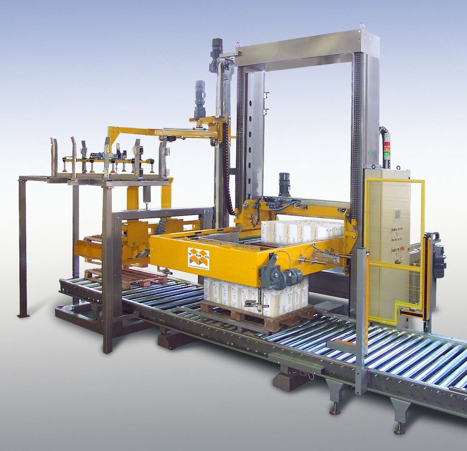Low-Level Tray Palletizing Machine