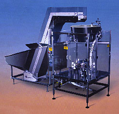 Bulk Feeder Elevator with Pocket Type Bottle Unscrambler