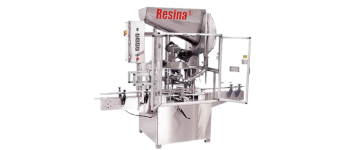 Used Resina Single Chuck Capper