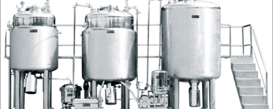 Used Tanks, Kettles, and Processors