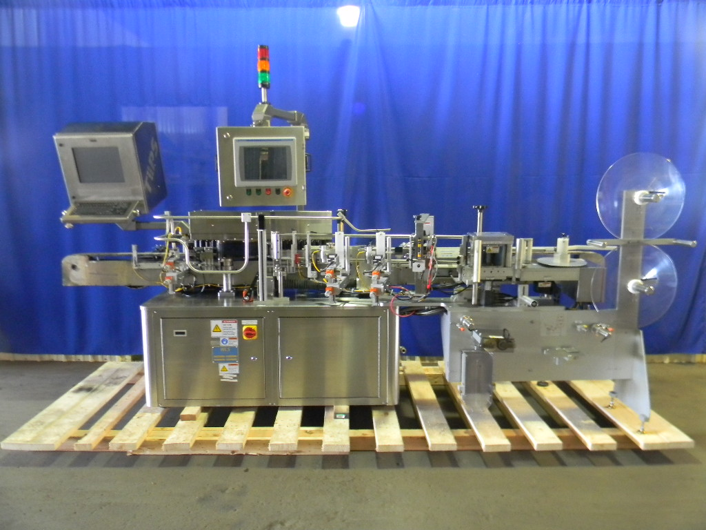 Used Vertical Wrap Around Labeler