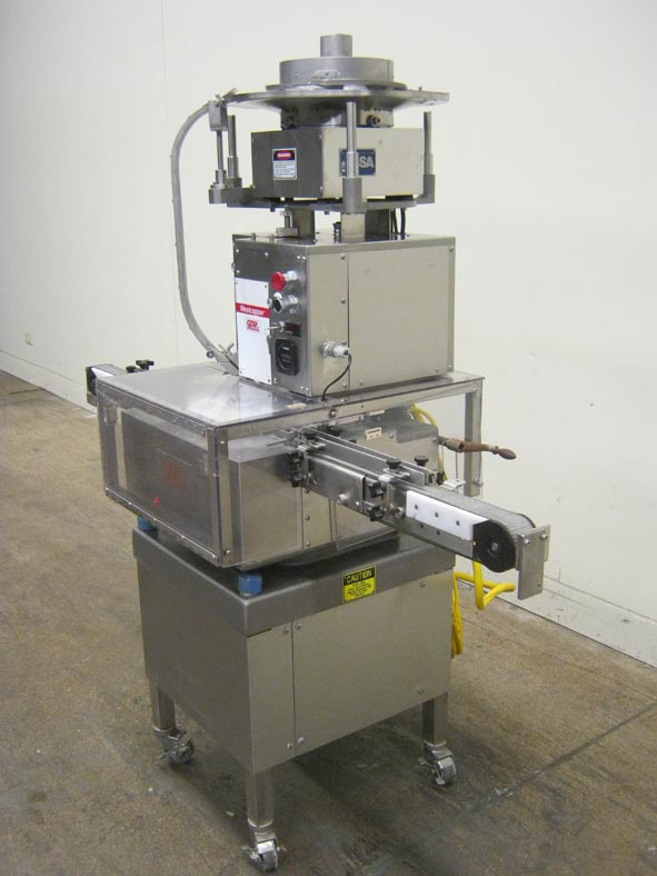 West Machine Style Pharmaceutical Capper