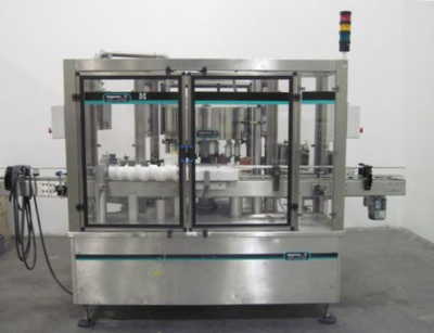 Used Wrap and Neck Rotary Cold Glue Labeler